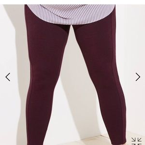 Loft Plus Leggings in Seamed Ponte - 20